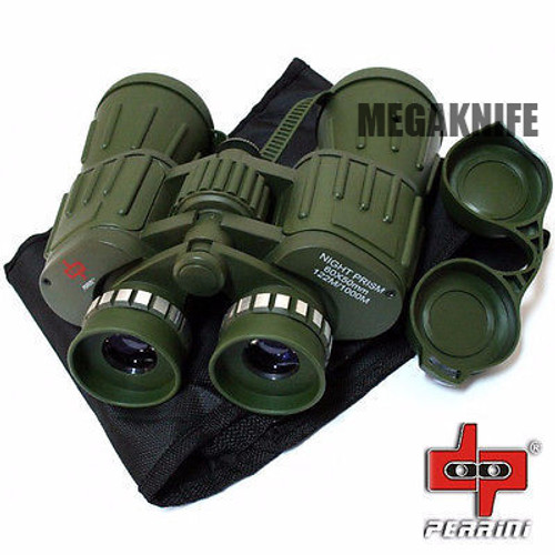 Day/Night 60X50 Military Army Binoculars Camouflage w/Pouch