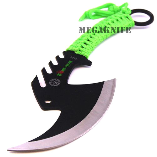TOMAHAWK TACTICAL THROWING AXE CAMPING HATCHET KNIFE HUNTING ZOMBIE SURVIVAL