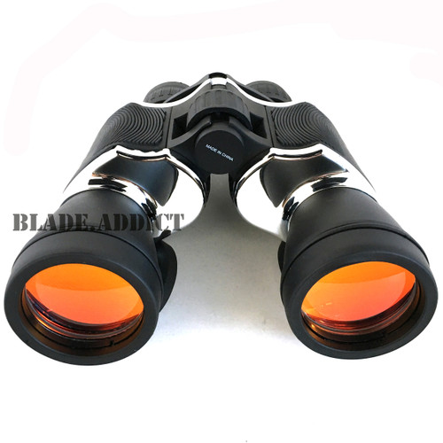 20X60 BLACK & CHROME PERRINI BRAND BINOCULAR