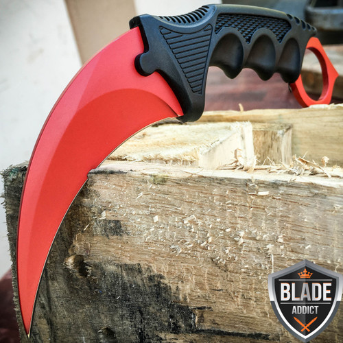 CSGO KARAMBIT HAWKBILL CLAW LIMITED EDITION BLOOD RED