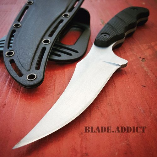 "9"" TACTICAL SURVIVAL KNIFE Hunting Skinner MILITARY Fixed Blade Rambo Bowie"