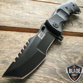 """9"""" CSGO Counter Strike BLACK  G10 Spring Assisted Pocket Huntsman"""