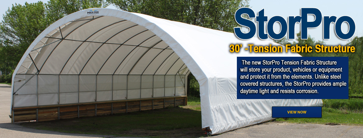 StorPro Tension Fabric Structure
