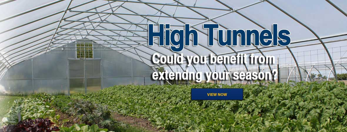 High Tunnels . Could you benefit extending your season?