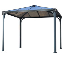 Palermo™ Gazebo Gray/Bronze
