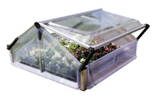 Cold Frame Double - Mini Garden Greenhouse