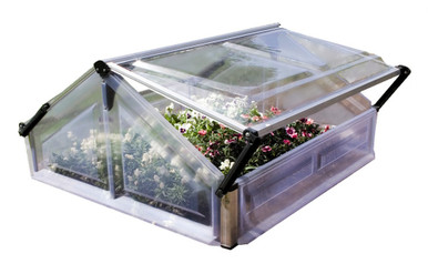 Cold Frame Double Mini Garden Greenhouse