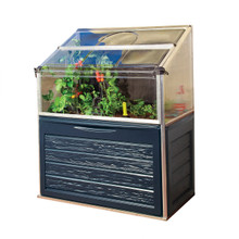 Plant Inn™ Compact - Raised Garden Bed Greenhouse