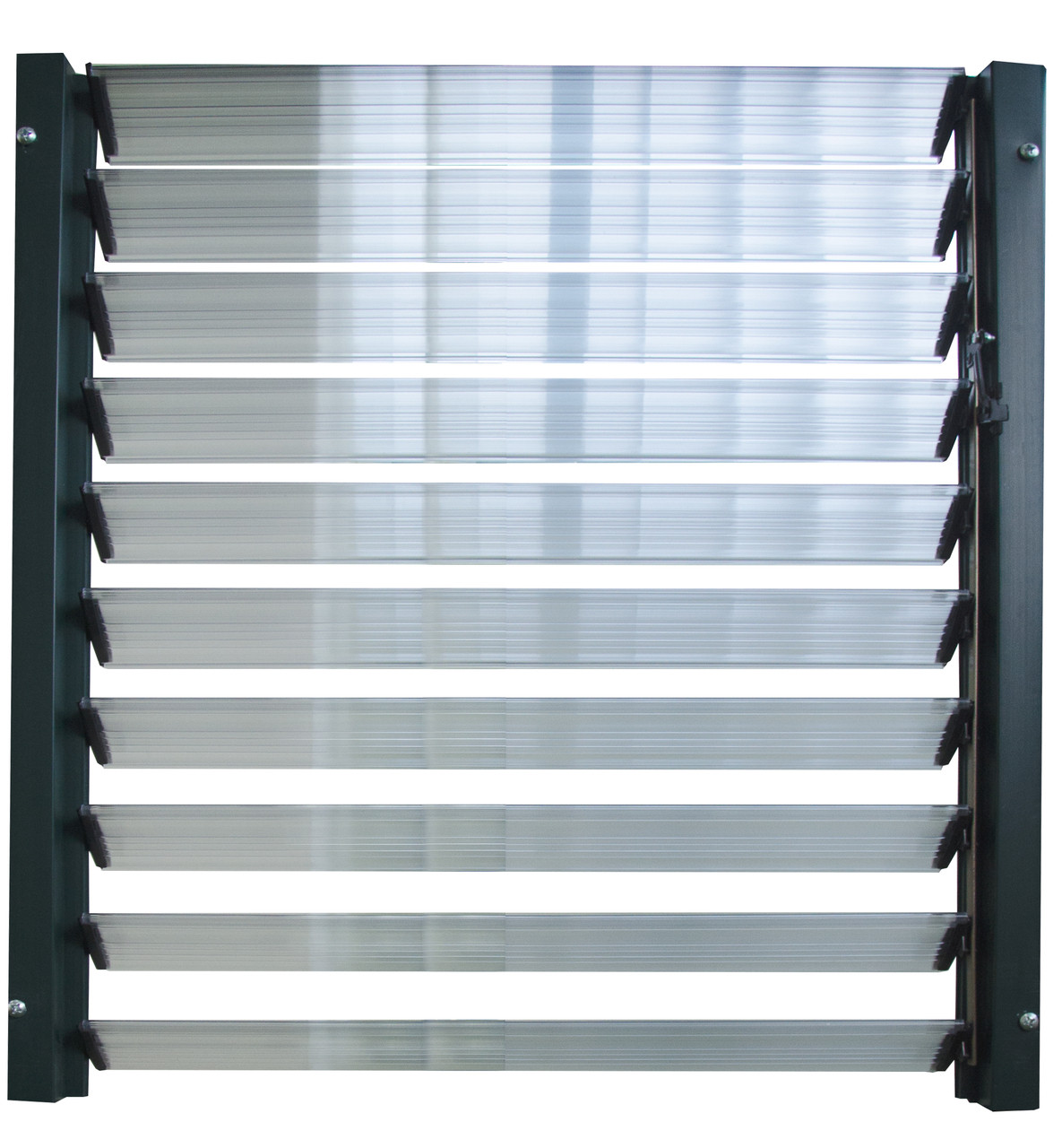 Rion Side Louver Window Poly Tex Inc