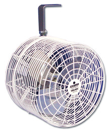 "Schaefer 12"" Horizontal Air Flow Fan"