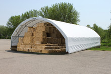 The new StorPro Tension Fabric Structure will store your hay and feed, sand and salt, tractors or construction equipment and protect it from the elements.
