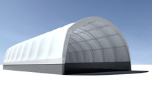 TrussMax Narrow-Tension Fabric Structure - 36', 45' W