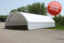 StorPro -Tension Fabric Structure 30' x 42' (Online Special)