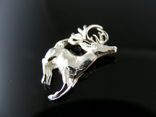 P103 PENDANT SETTING STERLING SILVER, DEER