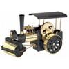 Wilesco D376 Black and Brass Steam Engine Roller Kit Version