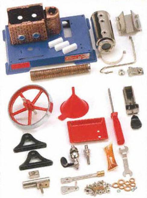 Wilesco D6K Kit Version Model Steam Engine