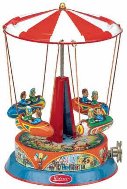 Wilesco M70 Carousel with Gondolas from Yesteryear Toys