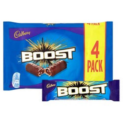 Cadbury Chocolate Boost  4 x 40g Bars