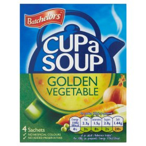 Batchelors Golden Vegetable Cup Of Soup