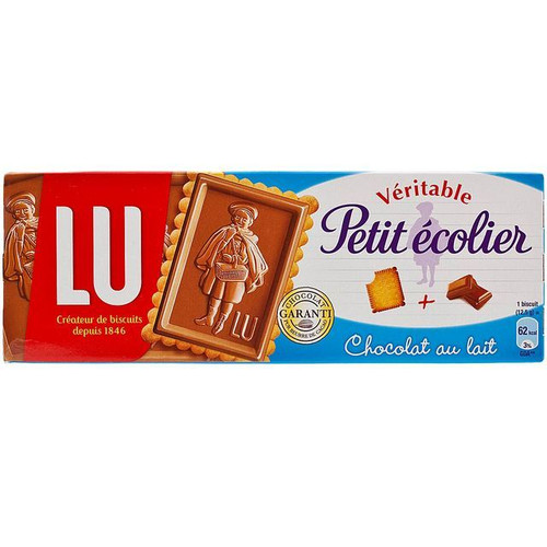 LU Veritable Petit Ecolier Milk Chocolate Biscuits 150g