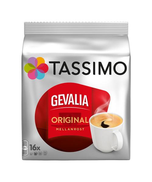 Tassimo Gevalia Original Mellanrost 16 Discs