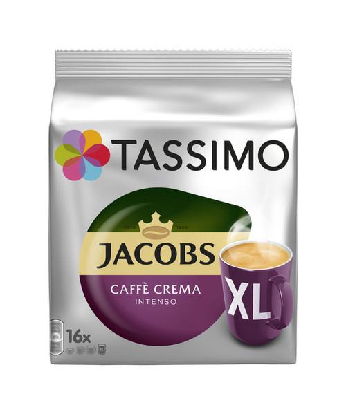 Jacobs Caffè Crema Intenso XL 16 Discs