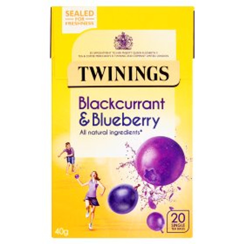 Twinings Twinings Blackcurrant & Blueberry Tea Bags 20pk
