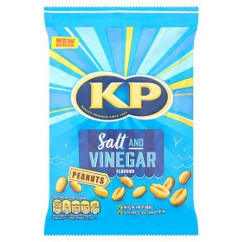 KP Peanuts Salt & Vinegar Flavour 225g