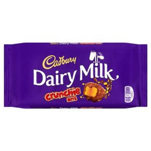 Cadbury Dairy Milk with Crunchie Bits Chocolate Bar 200g