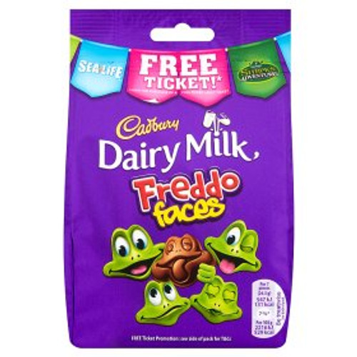Cadbury Dairy Milk Freddo Faces Chocolate Bag 105g
