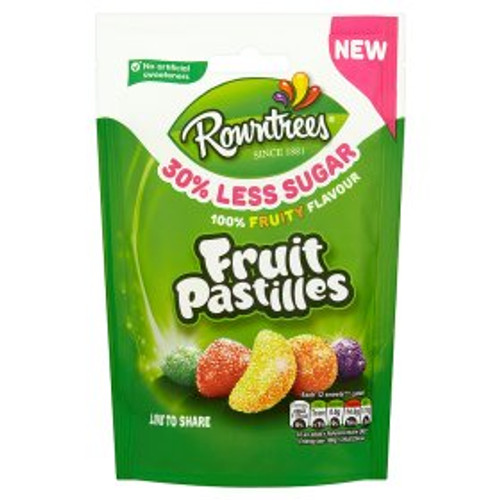 Rowntree's 30% Reduced Sugar Fruit Pastilles 110g