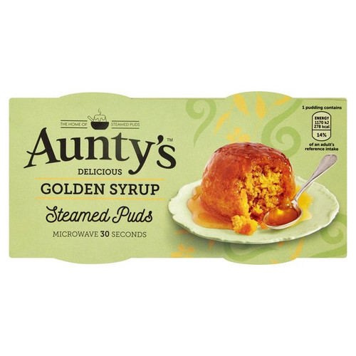 Aunty's Golden Syrup Pud 2 x 110g