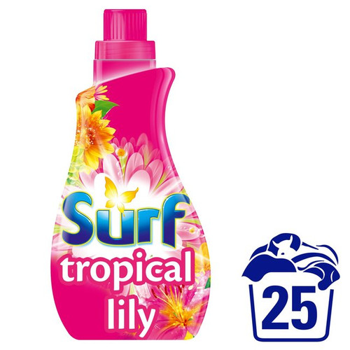 Surf Tropical Lily Bio Liquid 25 Wash 875ml