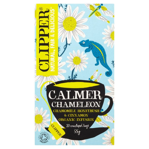 Clipper Calmer Chameleon Organic Infusion 20 Bags 35g