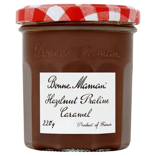 Bonne Maman Hazelnut Praline Caramel 220g