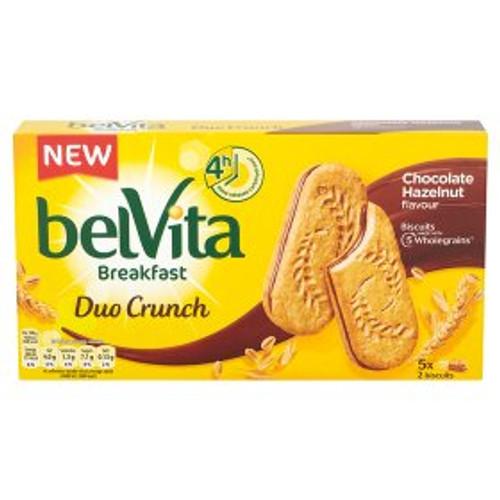 Belvita Breakfast Biscuits Duo Crunch Chocolate Hazelnut 5 Pack 253g