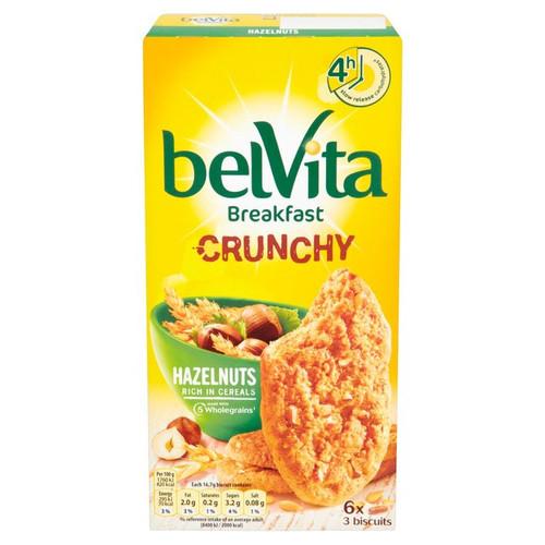Belvita Crunchy Hazelnut 6 x 50g