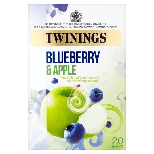 Twinings Blueberry & Apple Tea 20 per pack