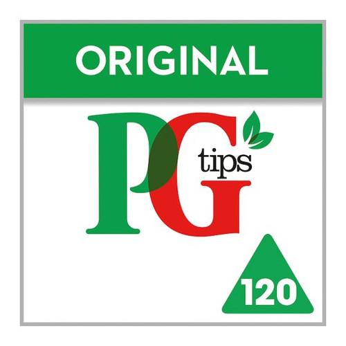 Pg Tips Original 120 Tea Bags