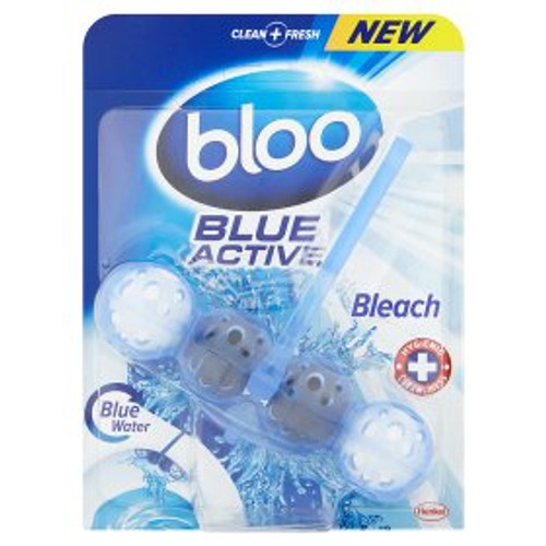 Bloo Blue Active Bleach Toilet Rim Block