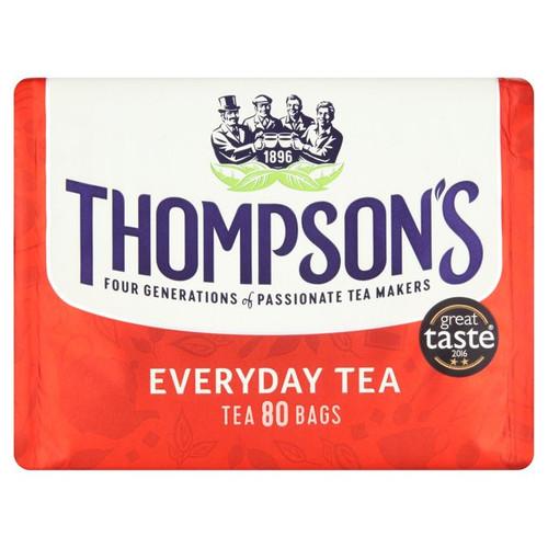Thompson's Everyday Tea 80 Tea Bags 250g