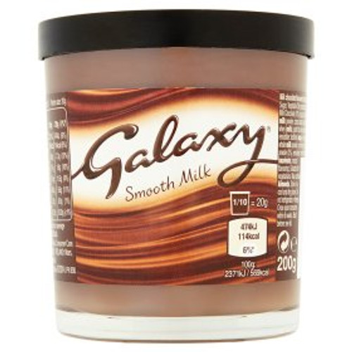 Galaxy Smooth Milk Chocolate Spread