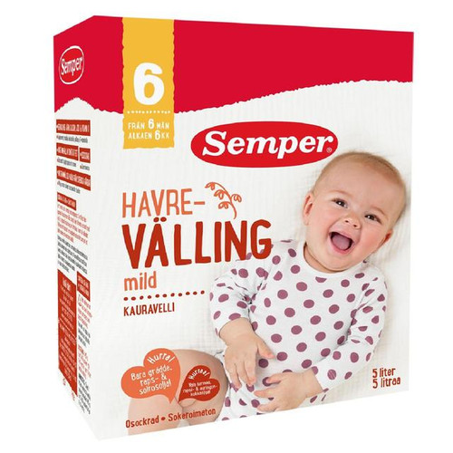 Semper Havre Valling Mild Oat Baby Cereal Drink from 6 Mths 725g