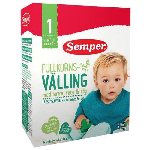 Semper Fullkorn Valling Wholemeal Baby Cereal Drink