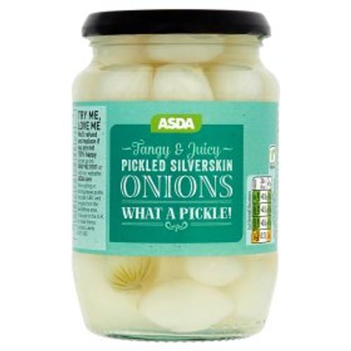 Asda Pickled Silverskin Onions 710g