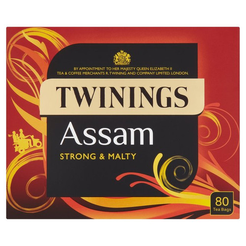 Twinings Assam Strong and Malty Teabags 80