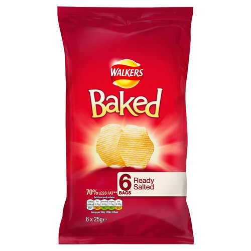 Walkers Baked Crisps Ready Salted