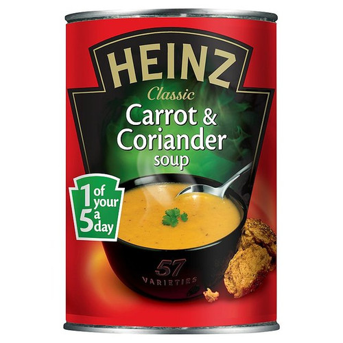 Heinz Carrot And Corriander 400g