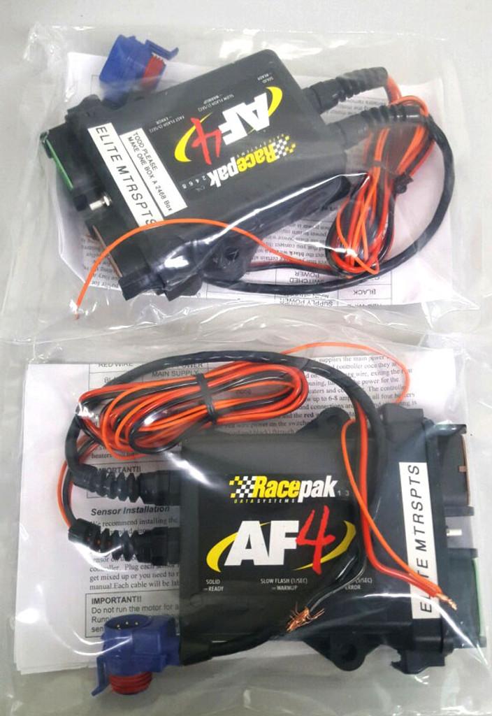 Pair of Racepak Four Channel Air Fuel Controllers