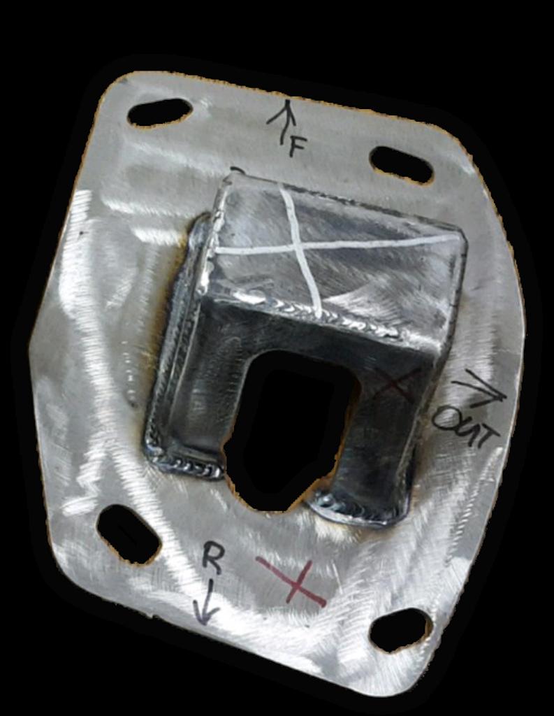 Gen 5 COPO Camaro Chromoly Rear Shock Brackets